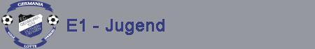 E1 Jugend